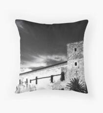 Eivissa fortress IR Throw Pillow