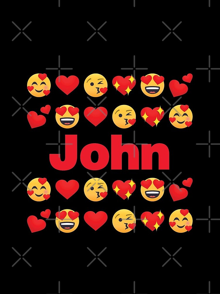 John Emoji My Love for Valentines day by el-patron