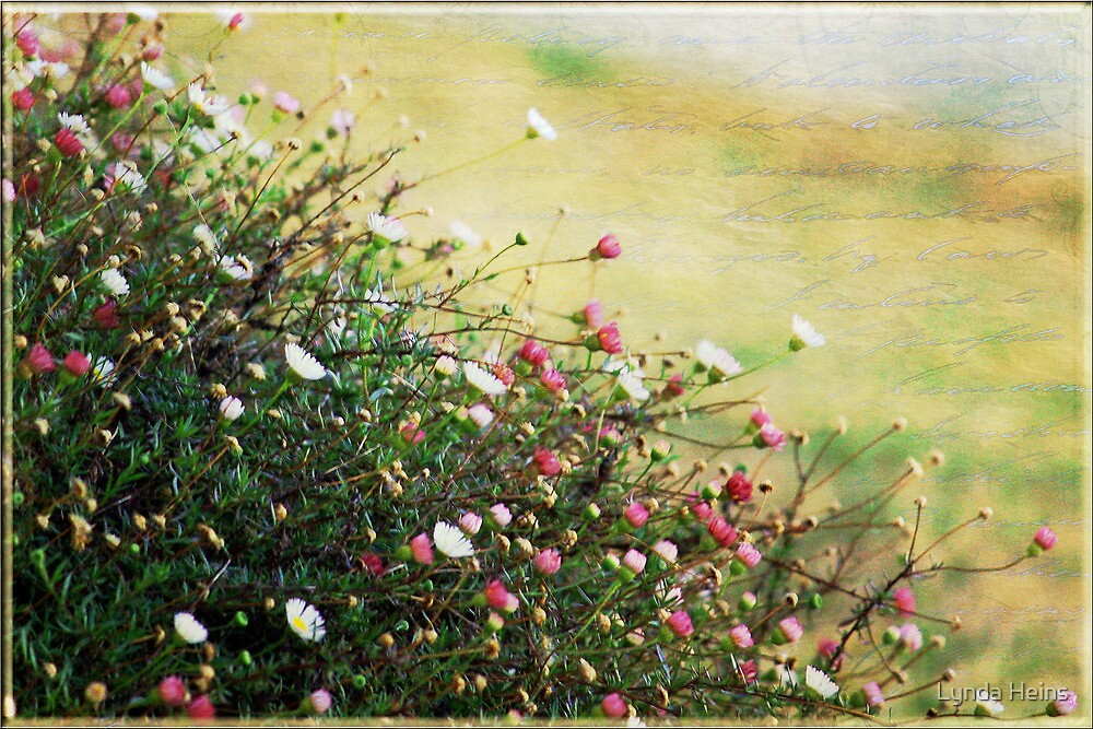 Say it with Flowers by Lynda Heins