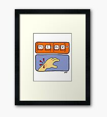 Data Entry Framed Print