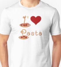 I Love Pasta Unisex T-Shirt