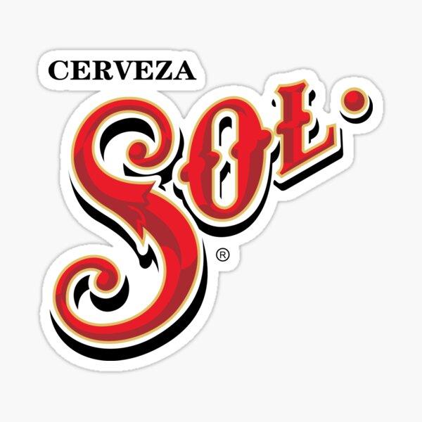 Sol cerveza mexicana Pegatina