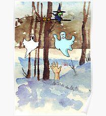 Friendly Spirits Poster