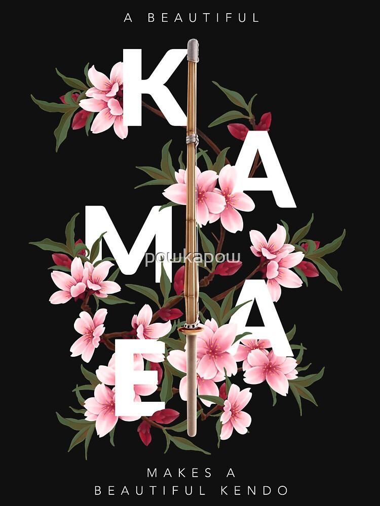 A beautiful kamae makes a beautiful Kendo! by powkapow