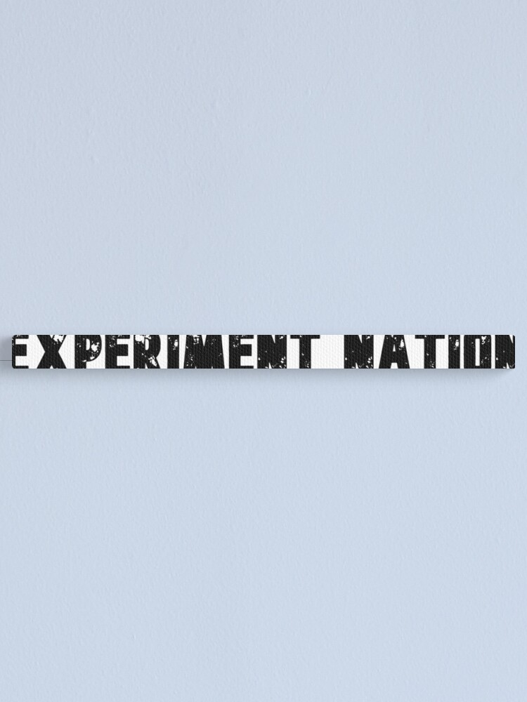 Alternate view of Experiment Nation Canvas Print