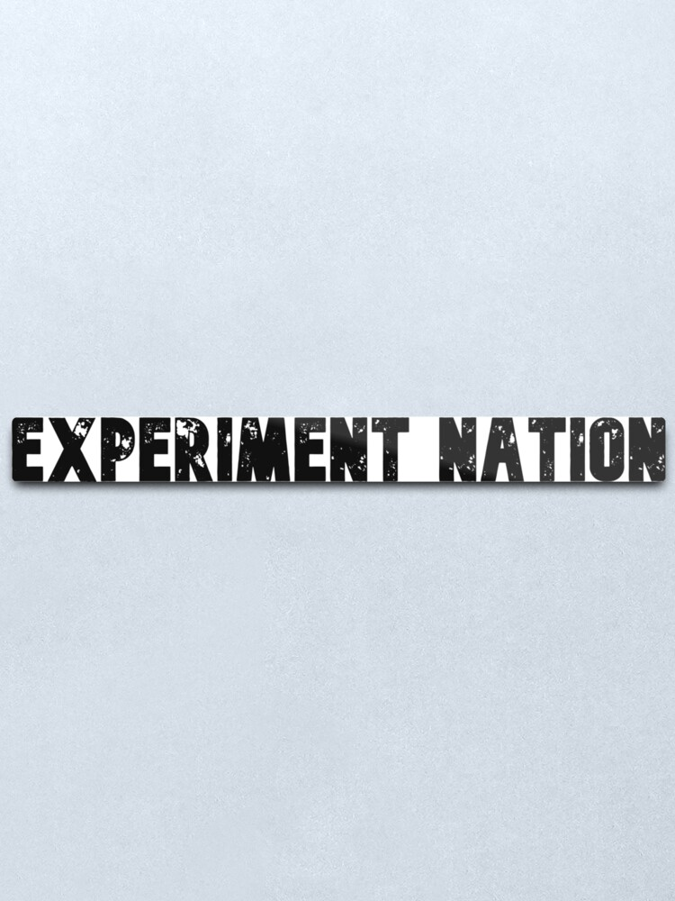 Alternate view of Experiment Nation Metal Print