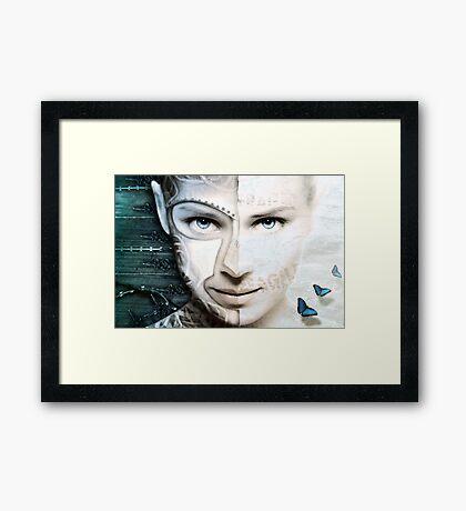 Dissembling - Reinforced Fragility Framed Print