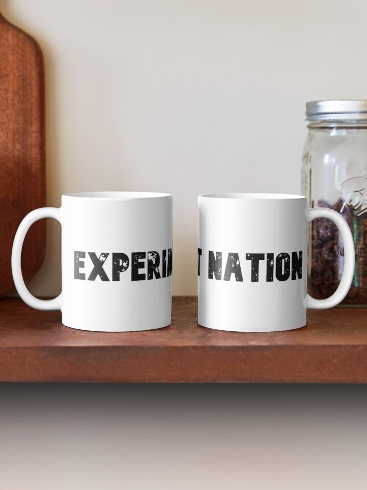 Alternate view of Experiment Nation Mug