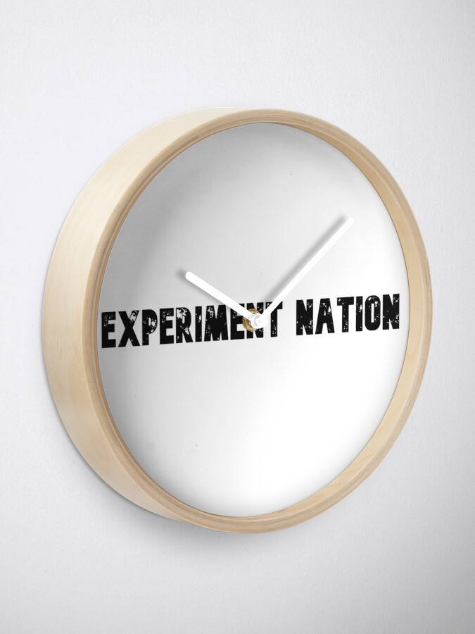 Alternate view of Experiment Nation Clock