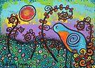Bird In The Meadow by Juli Cady Ryan