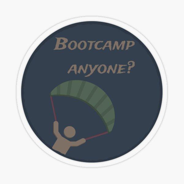 PUBG - Bootcamp jemand? Transparenter Sticker