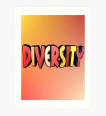 Autumn Diversity Art Print