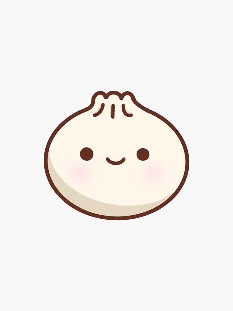 cute dumpling by lilcocostickers