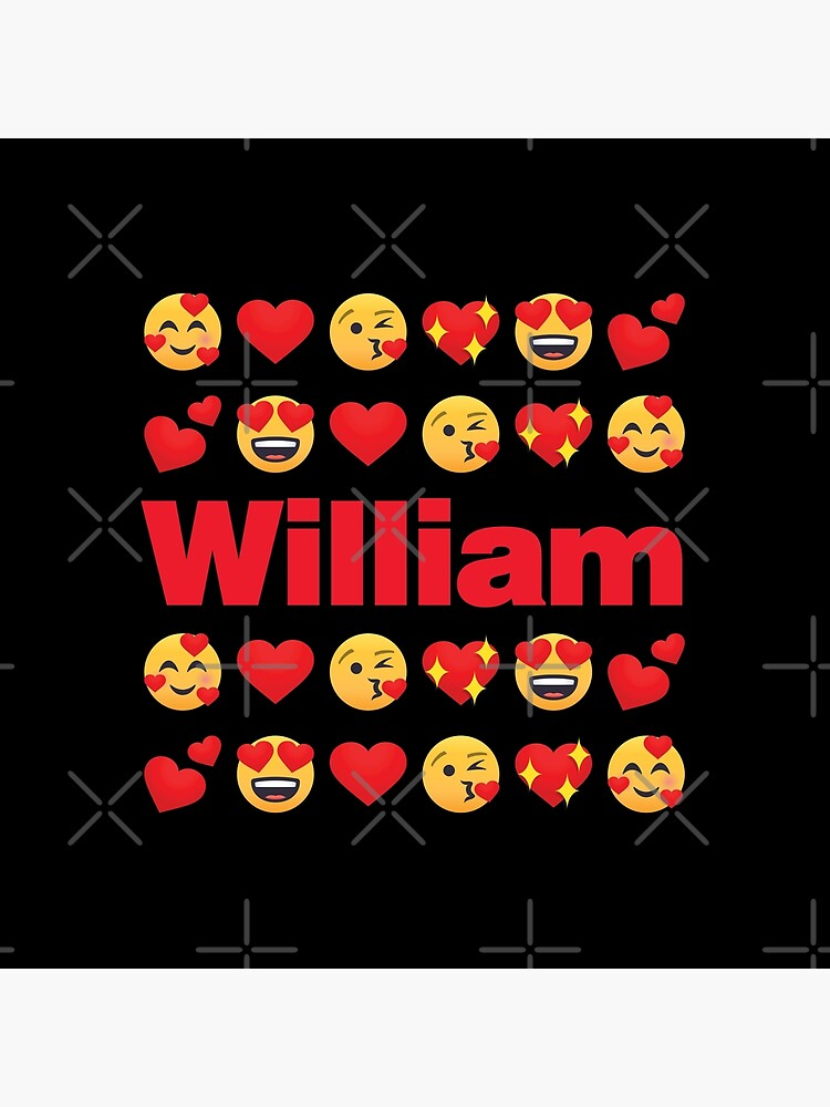 William Emoji My Love for Valentines day by el-patron