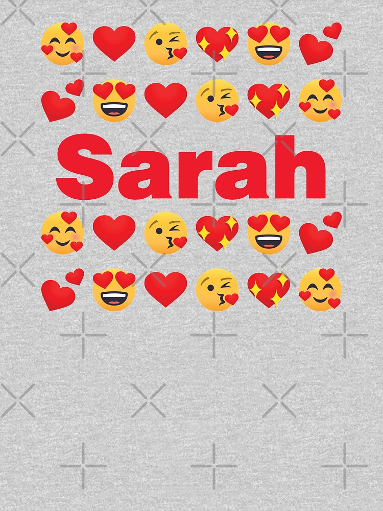 Sarah Emoji My Love for Valentines day by el-patron