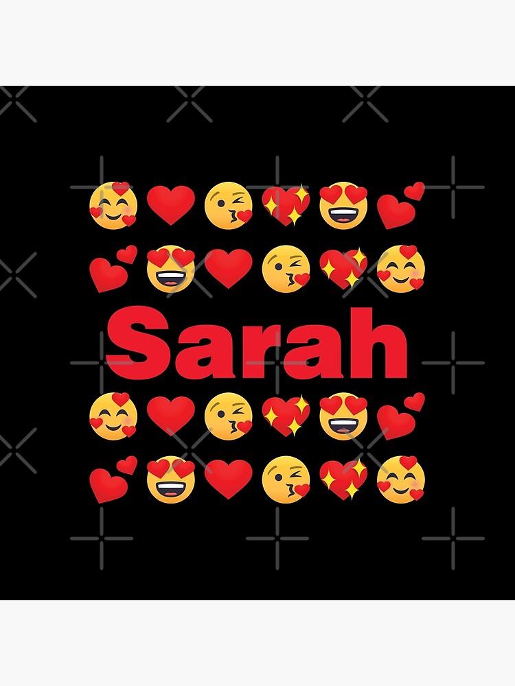 Sarah Emoji My Love for Valentines day by el-patron