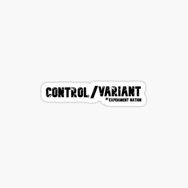 Control / Variant Sticker