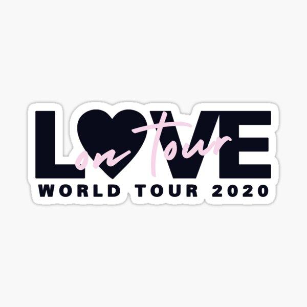 Love O N Tour 2020 Pegatina