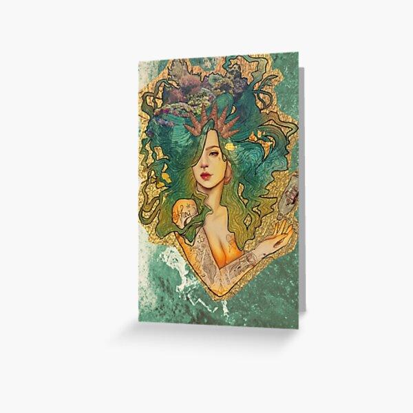 The Deep Blue Sea Greeting Card