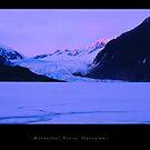 Mendenhall Winter Alpenglow by Dave Hampton