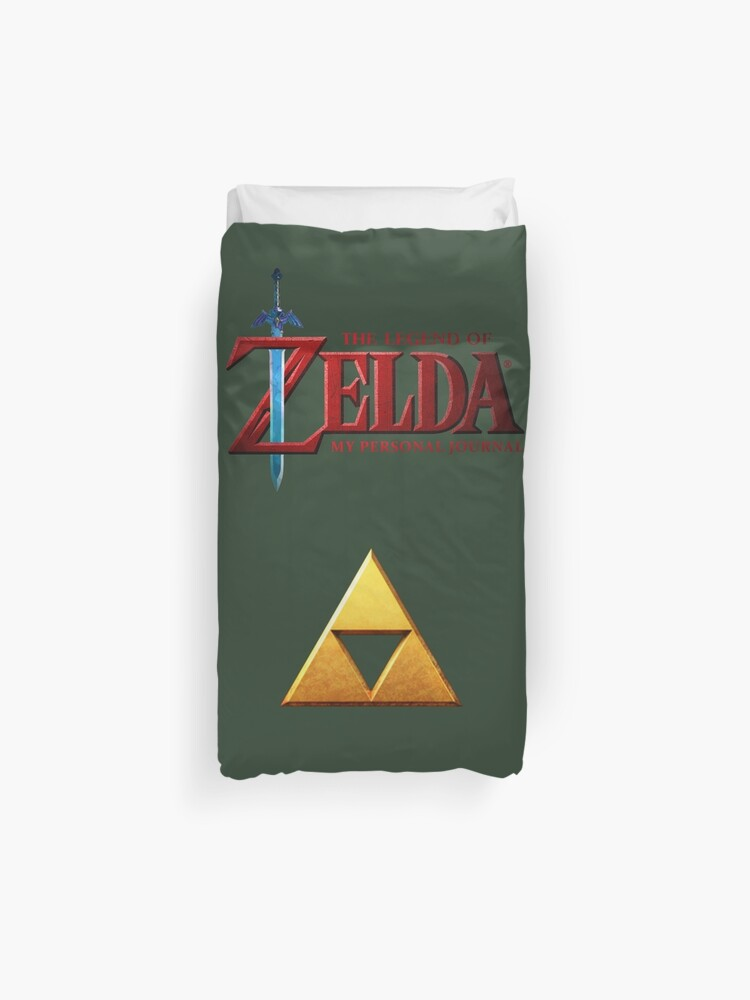 The Zelda Of Zelda Logo Housse De Couette