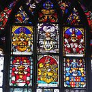 Bern Munster Stained glass Windows by Elena Skvortsova