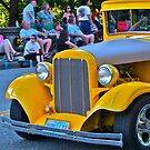 Yellow Vintage Car by carls121