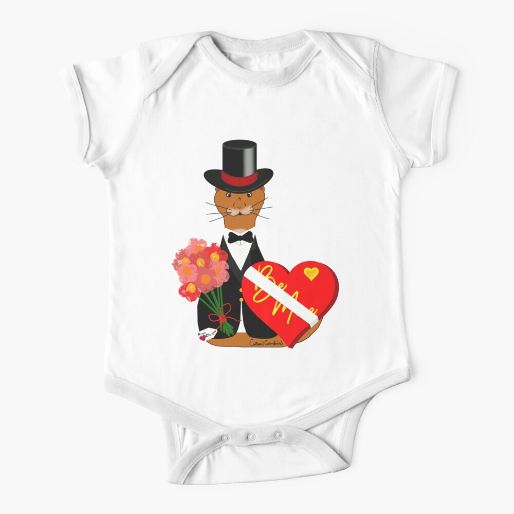 Oliver's Valentines Date Baby One-Piece