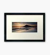 Isle of Harris, Sunset Framed Print