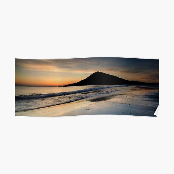 Isle of Harris, Sunset Poster