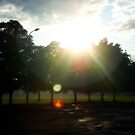 The sun's happy glare by takemeawaycn