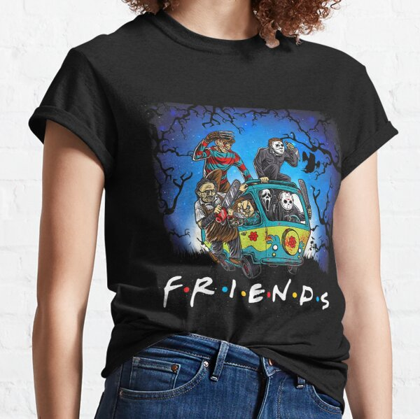 Horror Mashups: Horror Friends Classic T-Shirt