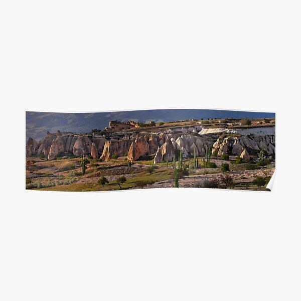 A Valley in Cappadocia Poster