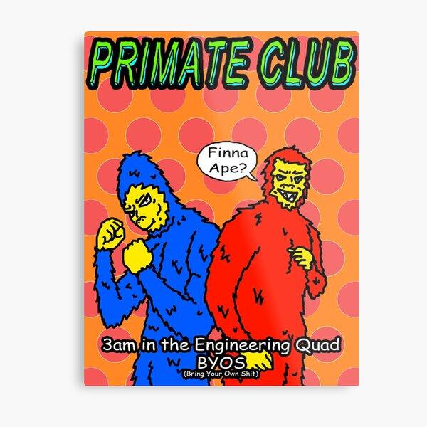Primate Club Metal Print