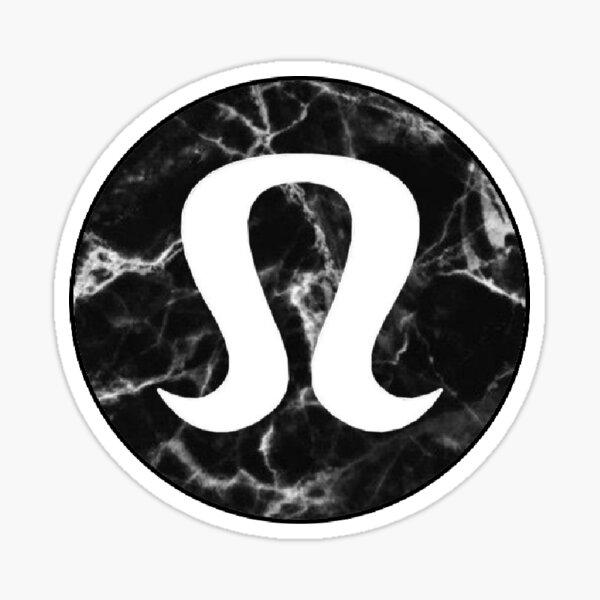 Lululemon marble Sticker