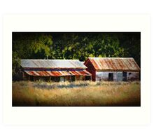Shearers Quarters Art Print