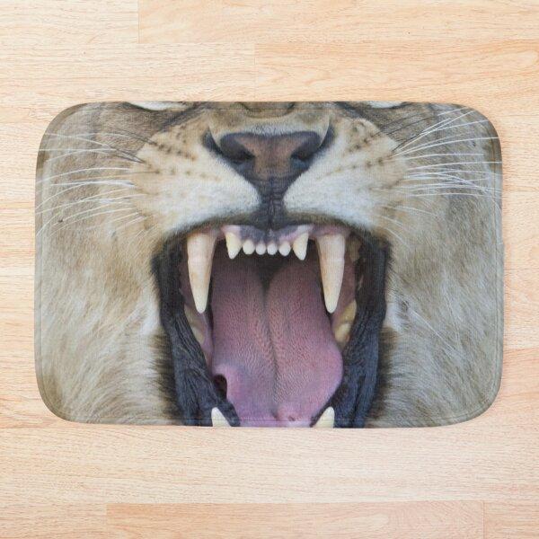 The Lions Mouth Opens Bath Mat