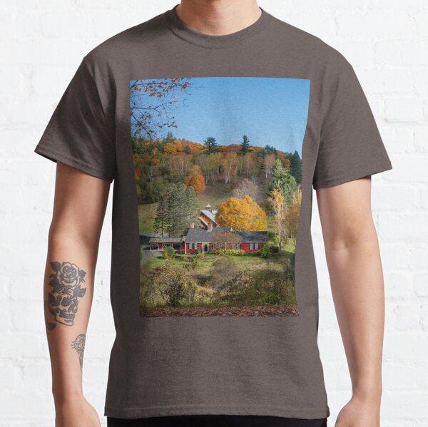 Sleepy Hollow Farm Vermont Panorama  Classic T-Shirt