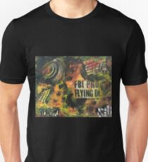Fire is everywhere when a UFO crashes on planet earth and people gets hypnotized T-Shirt