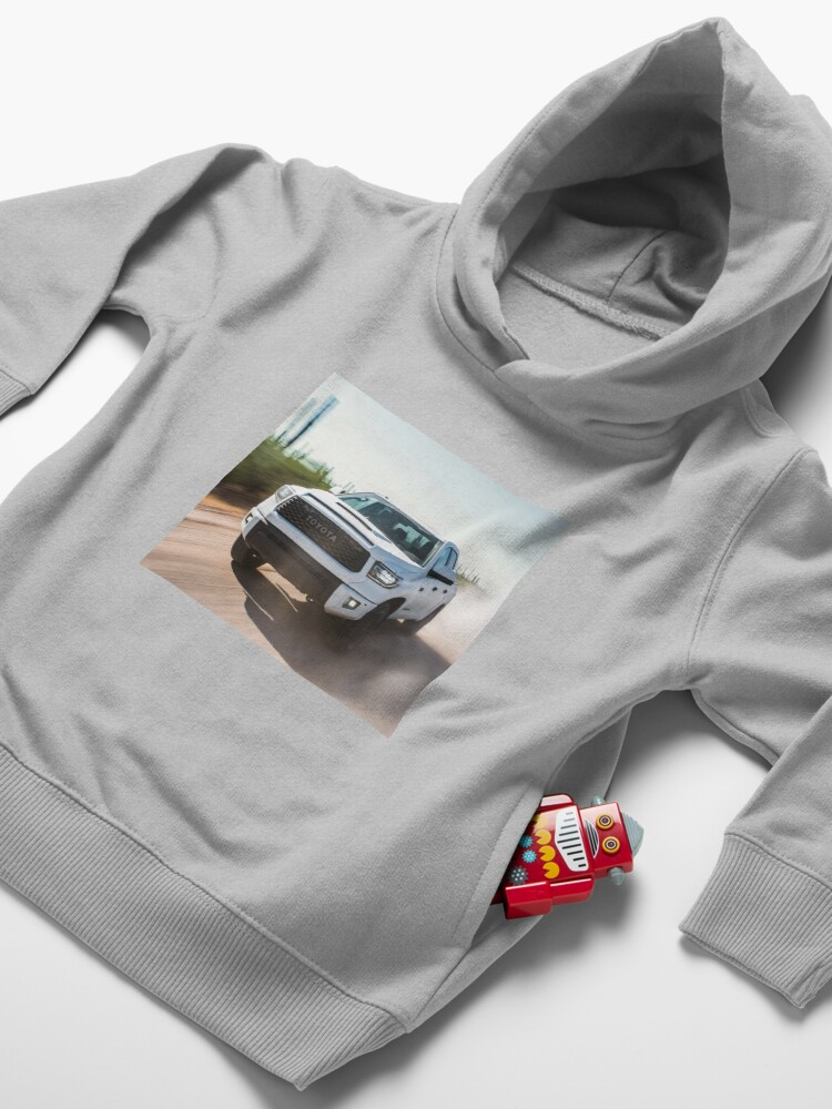 Alternate view of Toyota Tundra Toddler Pullover Hoodie