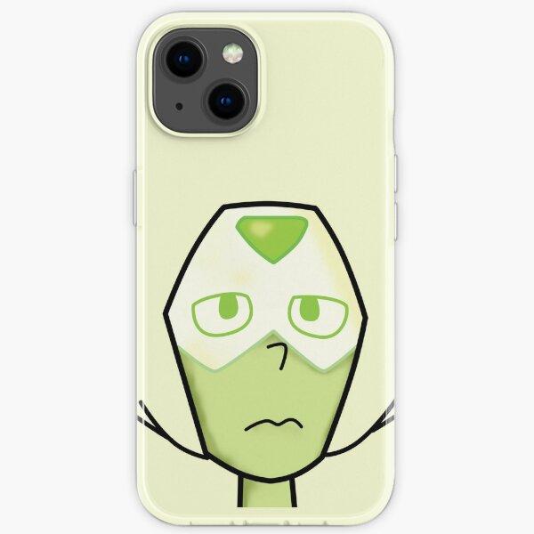 Peridot Face iPhone Soft Case