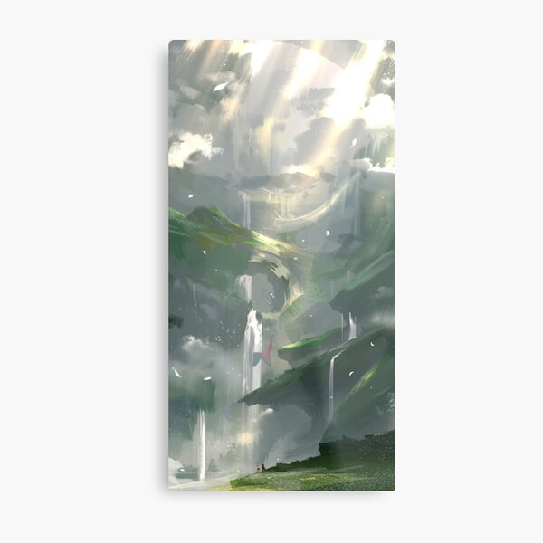 Made in Abyss - The Abyss Metal Print