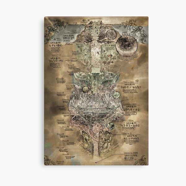 Made in Abyss - El Mapa del Abismo Lienzo