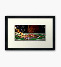 sand mandala. melbourne, australia Framed Print