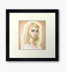Xanadu, Olivia Newton-John Framed Print