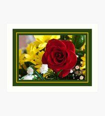 Flowers Today Art Print