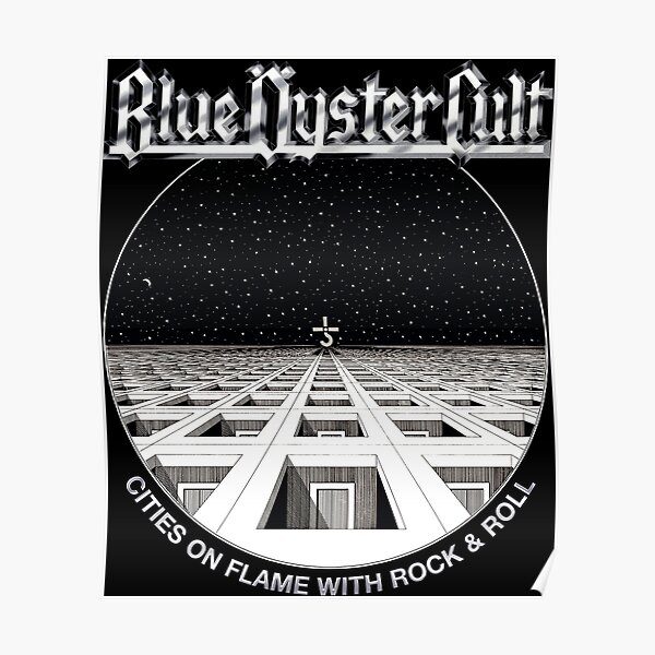 Blue Oyster Cult - Cities On Flame Poster