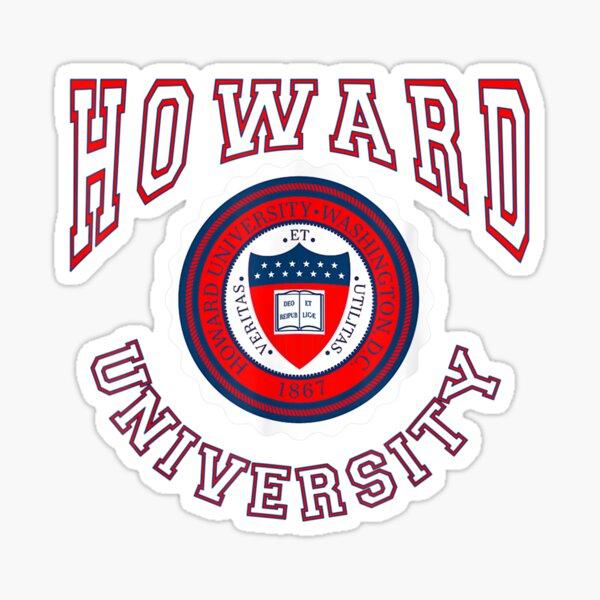 Howard Funny 1867 University Sport Sticker