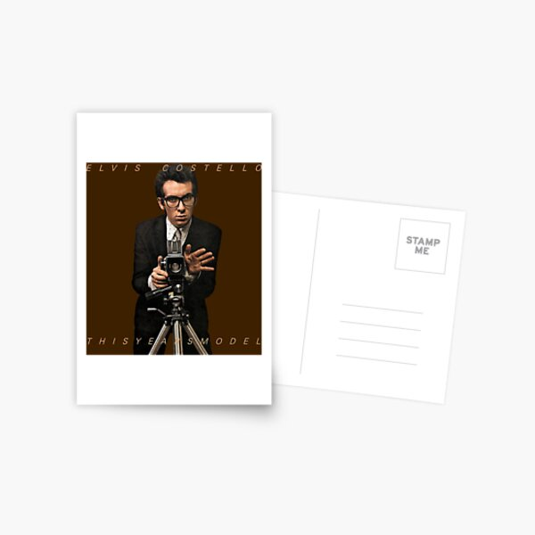 Elvis Costello Postcard