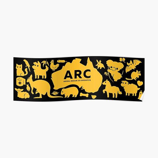 ARC Animals across Australia - in yellow Poster